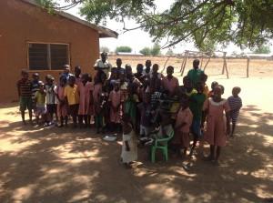 Kinderen kindertehuis Ghana