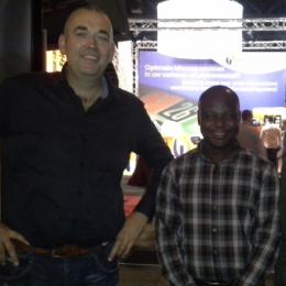 Projectleider Emmanuel in Nederland